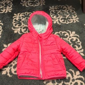 EUC cat & jack girls coat